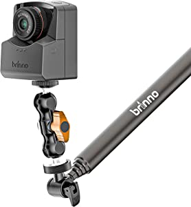 Brinno Time Lapse Camera TLC2020 (with BCS039 Narrow-Angle Lens), 99-Day Battery Life, HD 1080p, BAC2000 Accessory Bundle (Clamp/Monopod/Phone Holder/Adjustable Lens)