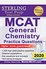 Sterling Test Prep MCAT General Chemistry Practice Questions: High Yield MCAT Questions Paperback