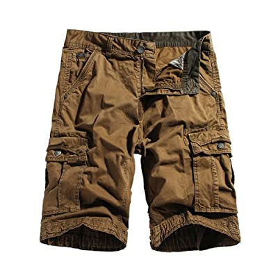 Cromoncent Boy Baggy Multi-Pocket Casual Comfortable Sports Cool Dry Summer Shorts