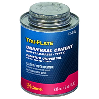 Plews / Edelmann Camel Tire 12086 Universal Cement 1/2 Pt.: Automotive