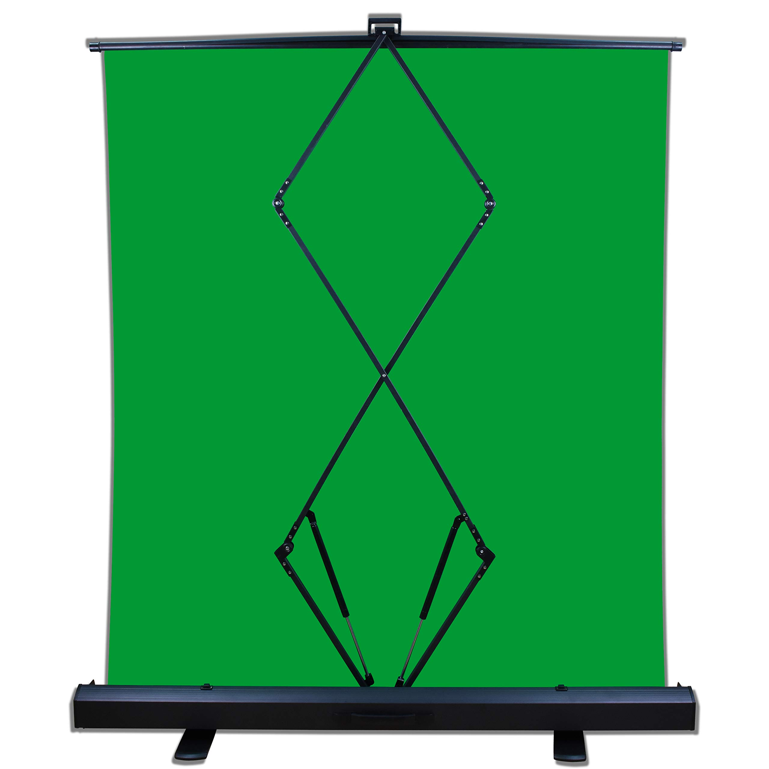 Emart Green Screen, Collapsible Chromakey Panel for Photo Backdrop Video Studio,Portable Pull Up Wrinkle-Resistant Greenscreen Background, Auto-Locking Air Cushion Frame, Solid Safety Aluminium Base by EMART (Image #5)