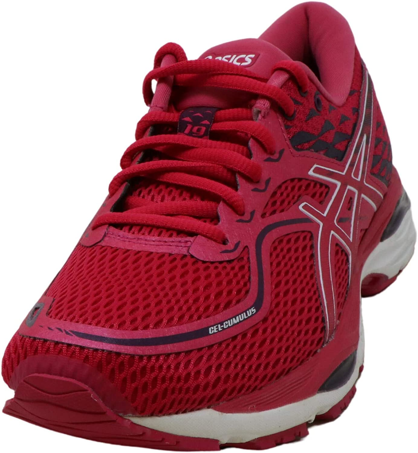 ASICS Gel-Cumulus 19 - Zapatillas de running para mujer, Rosa (Rosa/Blanco/Winter Bloom), 37.5 EU: Amazon.es: Deportes y aire libre
