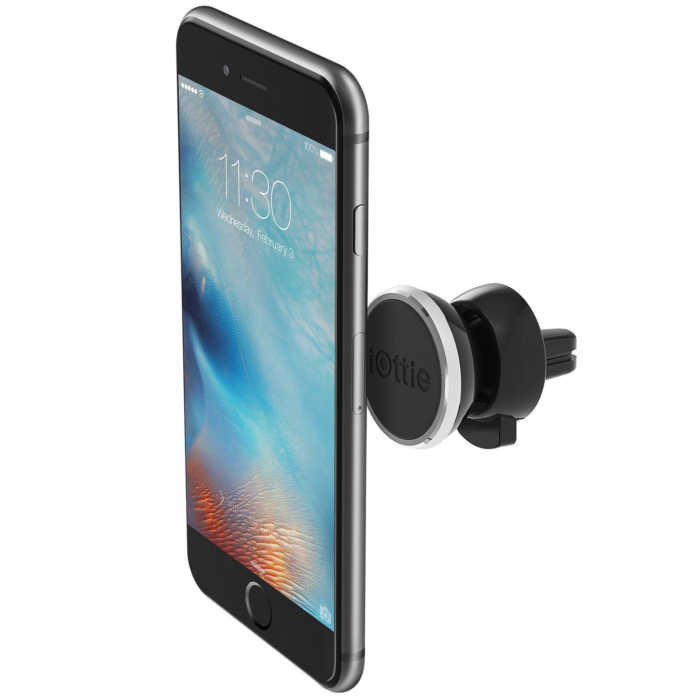 iOttie iTap Magnetic Air Vent Premium Car Mount Holder Cradle for iPhone X 8/8s 7 7 Plus 6s Plus 6s 6 SE Samsung Galaxy S8 Plus S8 Edge S7 S6 Note 8 5 HLCRIO151RT