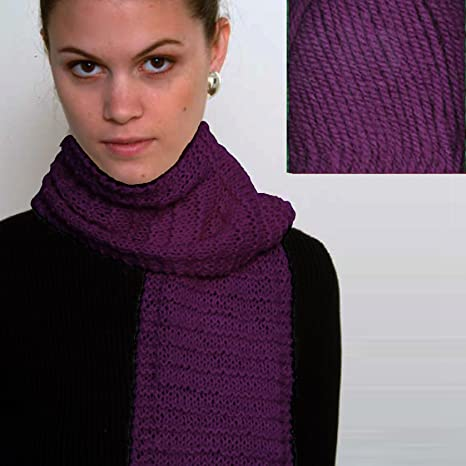 Cedar Bluff Beginners Scarf Knit Kit with Encore Worsted Yarn