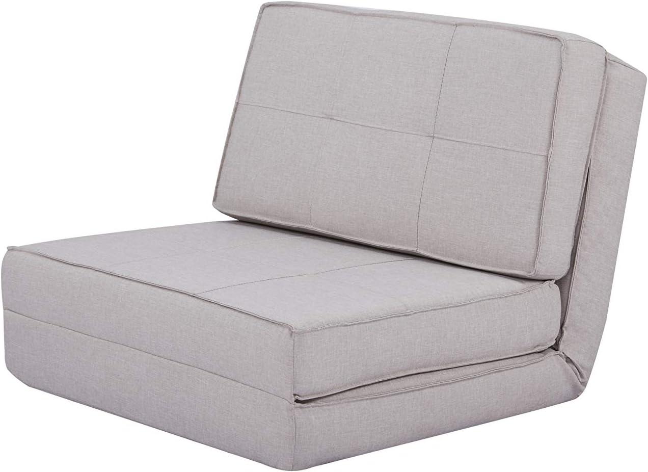 Sof/á cama gris oscuro Basics 74 x 80 x 61,5