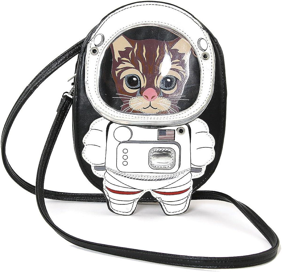 Astronaut Cat Shoulder Crossbody Bag