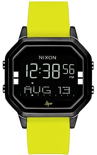 Nixon The Siren Reloj para Mujer Digital de Cuarzo con Brazalete de Silicona A12112972: Amazon.es: Relojes