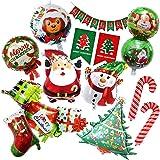 七色良品 クリスマス 飾り バルーン 装飾 かざり 風船 (11個セット・ハッピーギフト)