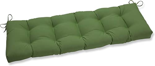 Reviewed: Pillow Perfect Outdoor/Indoor Canvas Ginko Tufted Bench/Swing Cushion