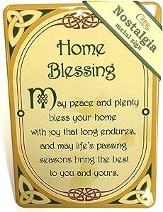 Royal Tara Home Blessing Irish Nostalgia Metal Sign