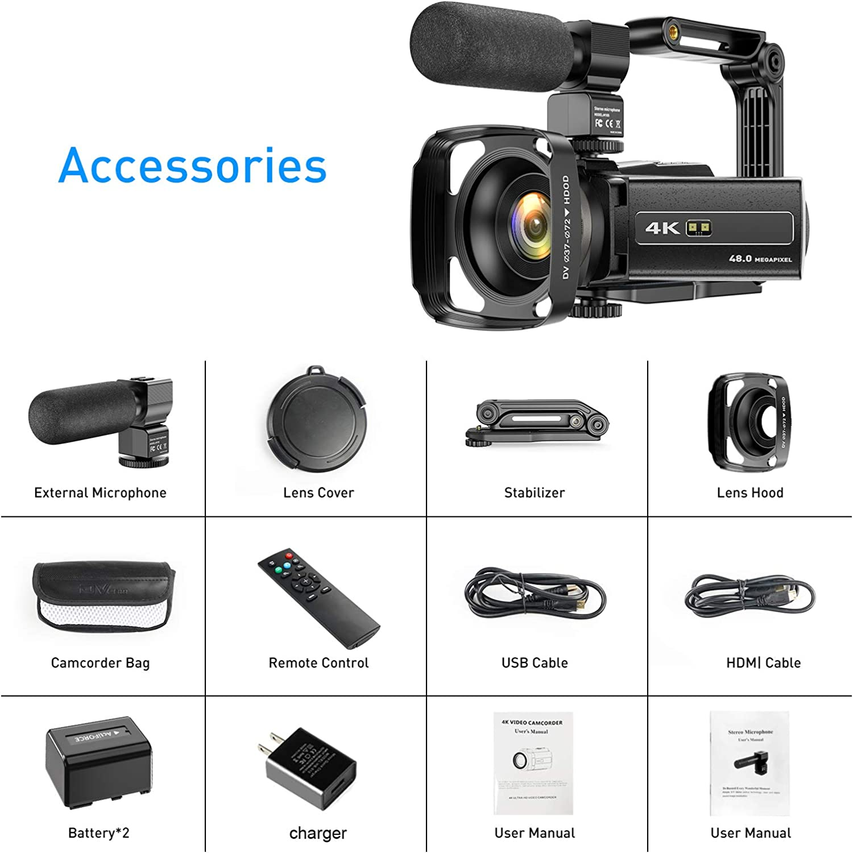 Electronics Camcorders ghdonat.com Lens Hood Remote Handheld ...