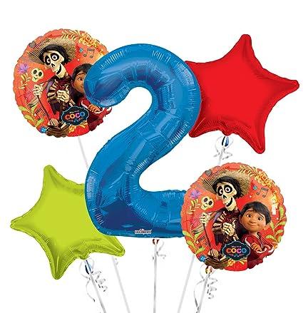Amazon.com: Coco Hector ramo de globos 2 nd cumpleaños 5 ...