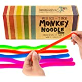 Impresa Products 5-Pack of Stretchy String Fidget / Sensory Toys (BPA/Phthalate/Latex-Free) - Stretches from 10 Inches to 8 F