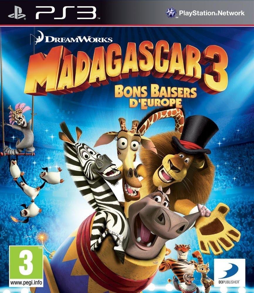 Disney Madagascar 3, PS3 - Juego (PS3, PlayStation 3, Niños, Monkey Bar Games, E (para todos), Básico): Amazon.es: Videojuegos