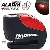 Radikal RK9 Candado Antirrobo Moto Disco Alarma 120