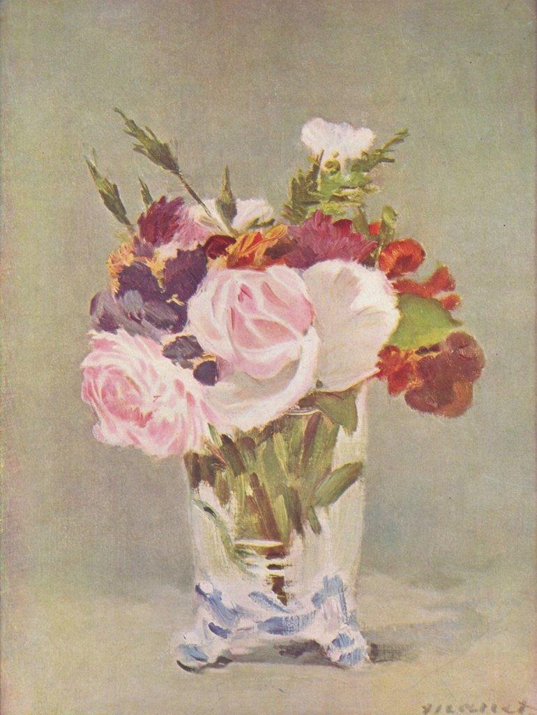Lais Puzzle Edouard Manet - Stilleben mit Blumen 2000 Teile