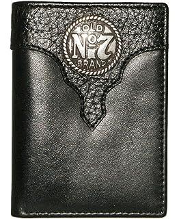 ca7b7573a2595 Amazon.com   Jack Daniels Distillers Choice Trifold Wallet - Black ...