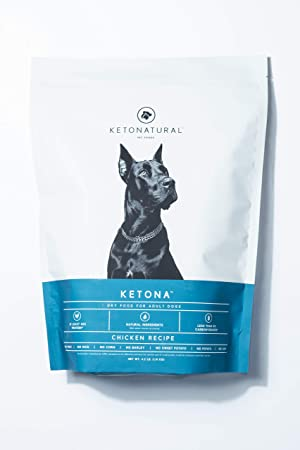 Ketona Chicken Recipe Dry Food for Adult Dogs - Best Ketogenic Dog Food