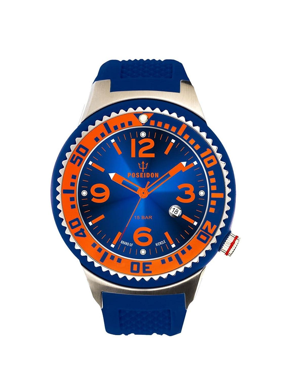 Kienzle Herren-Armbanduhr POSEIDON L Analog Quarz Silikon K2093017013-00397