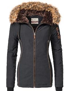 Eight2Nine Damen Jacke Winterjacke 44278AEN BlauGrau Gr. XL