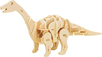 ROBOTIME 3D Wooden Walking Dinosaur Puzzle Sound Control Toy Gift