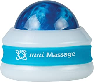 product image for Core Products Mini Omni Massage Ball Manual Roller Massager for Self Massage Therapy Tool, White Cap - Blue