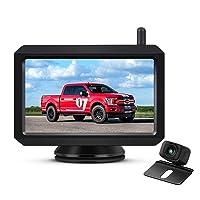 Deals on AUTO-VOX W7 Wireless Backup Camera Kit  5 Inch Monitor