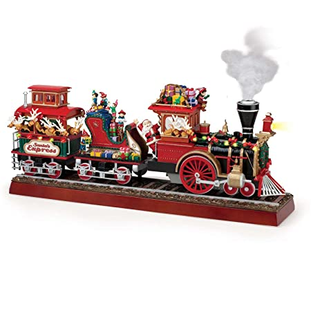 Mr. Christmas Animated Musical Santa s Express with Working Smokestack