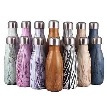 Amazon.com: FunnyGuys – Botella de agua de viaje de acero ...