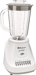 Koblenz LKM-5510 PB 1.25-Liter Kitchen Magic Collection 10 Speed and 2 Pulses Plastic Jar Blender, One Size, White