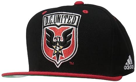 49380477514 Amazon.com   MLS D.C. United Men s Team Logo Two Tone Flat Brim ...