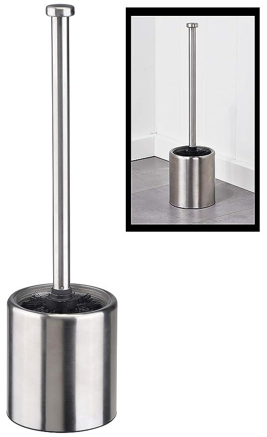 Virklyee Escobillero de WC Elegante escobilla de ba/ño de Acero Inoxidable Escobillas y portaescobillas de Inodoro 02-Tipo de Cintura