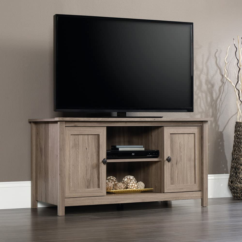 Sauder County Line Panel TV Stand, For TVs up to 47
