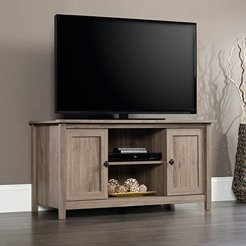 Sauder County Line Panel TV Stand, For TVs up to 47 , Salt Oak finish