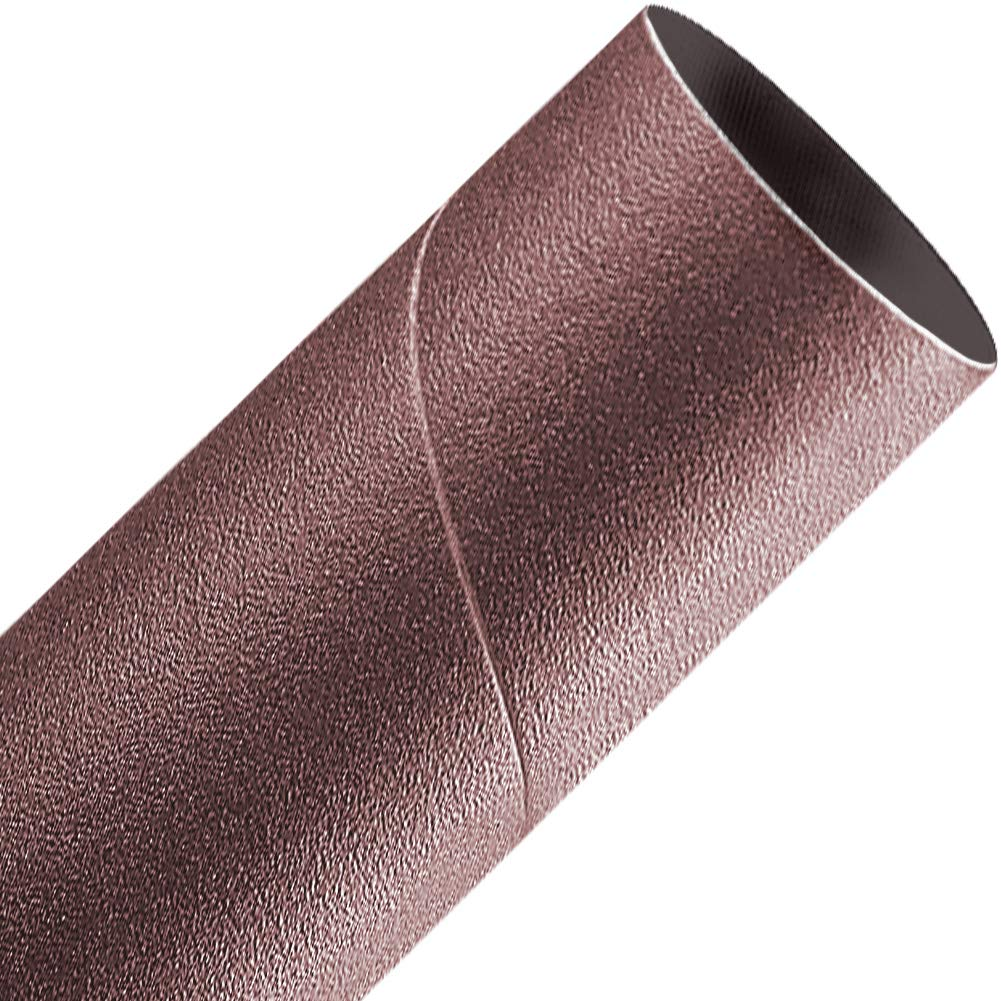 Spiral Bands Sanding Sleeves 50-Pack,abrasives A/&H Abrasives 876487 Aluminum Oxide 2x2 Aluminum Oxide 50 Grit Spiral Band