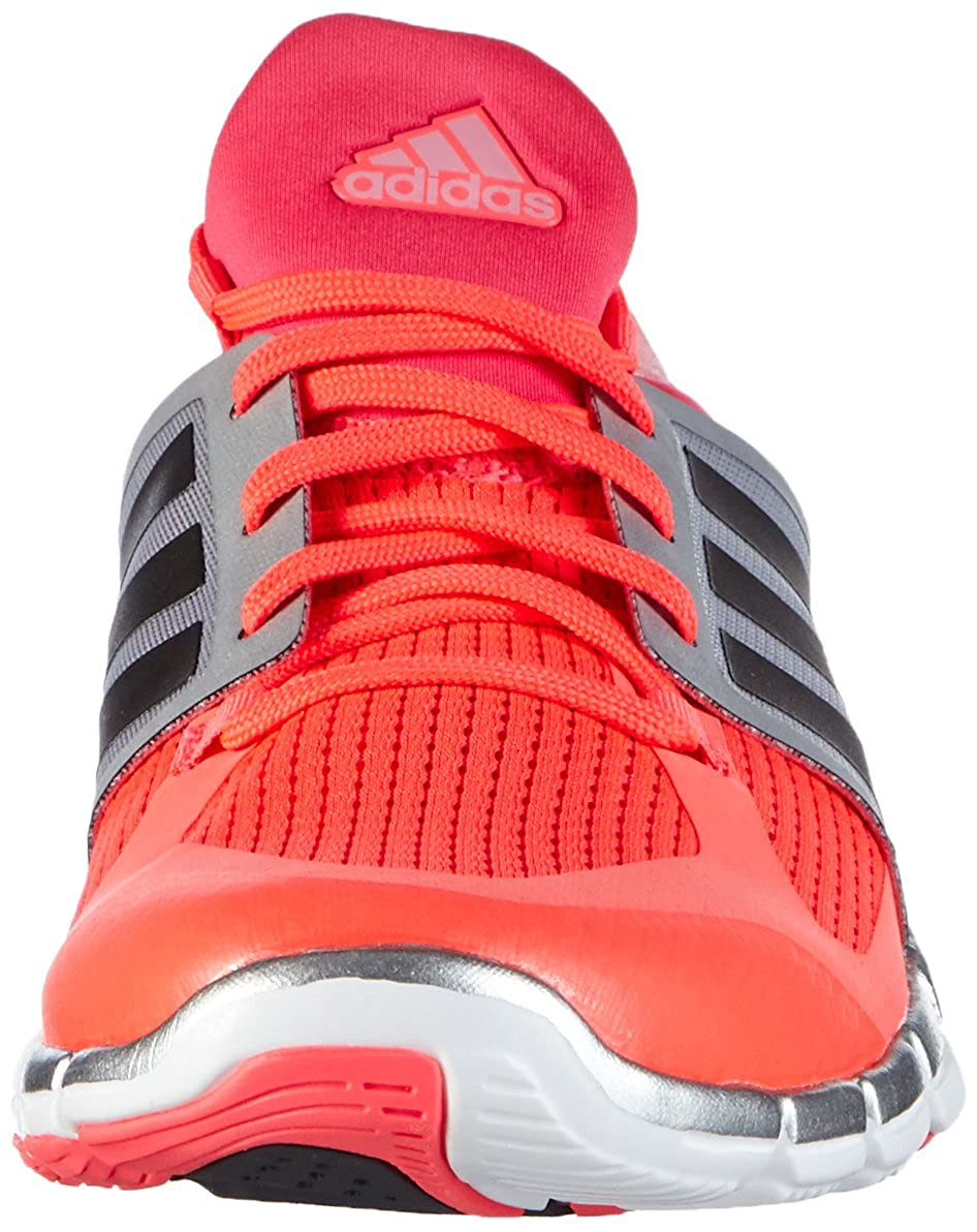 Adidas Damen Adipure 360.3 Hallenschuhe Rot (Flash ROT Solid S15/Dgh Solid ROT Grau/Silver Metalic) fd0280