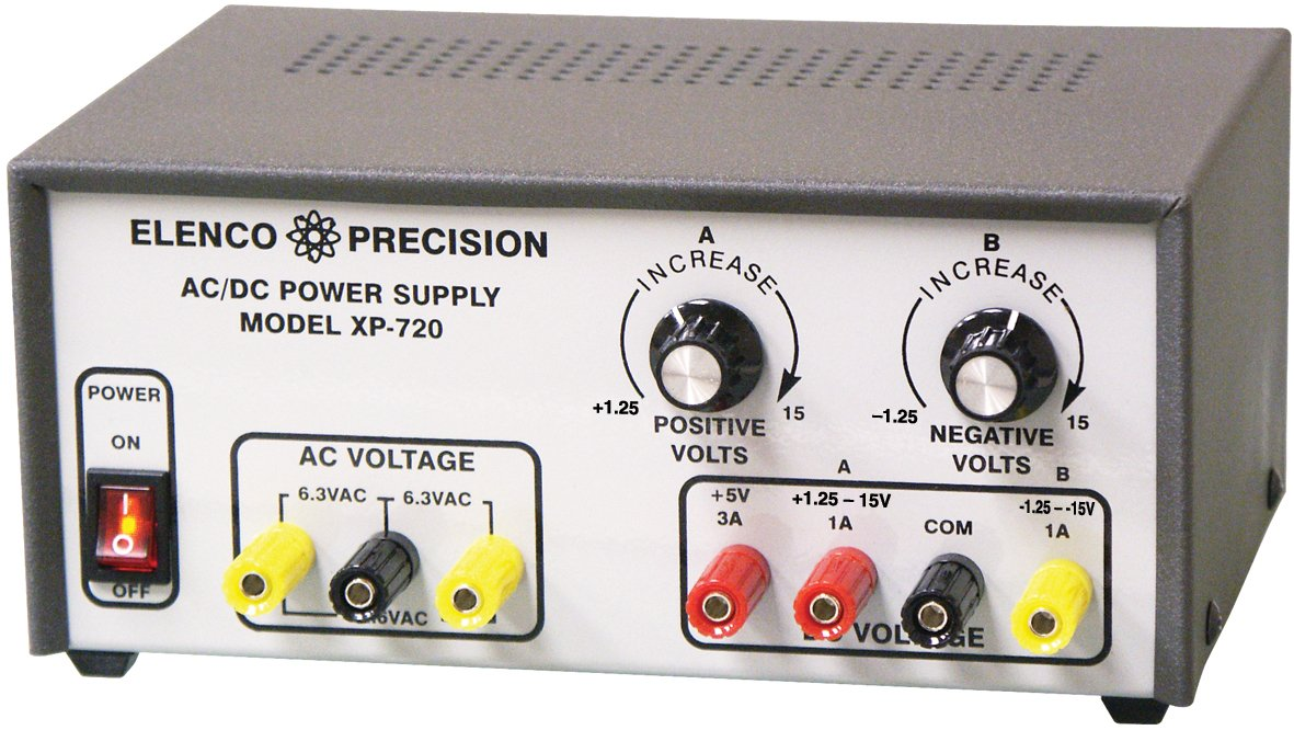 Elenco  AC/DC Triple Output Power Supply Kit
