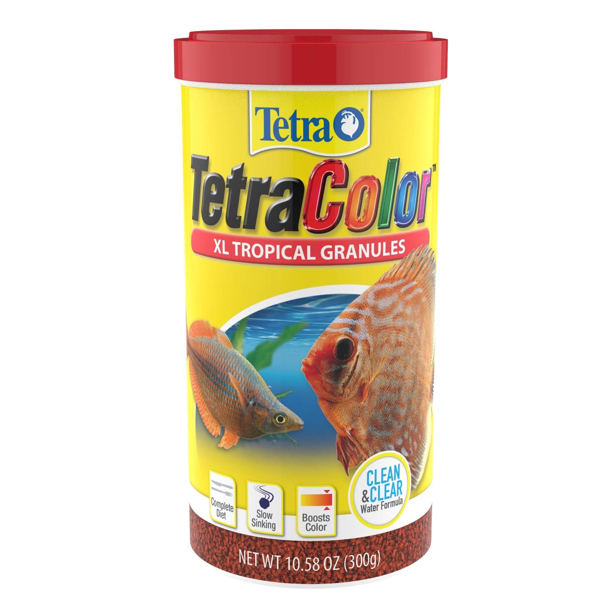 Tetra Tropical XL Color Granules with Natural Color Enhancer