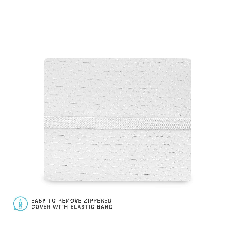 SensorPEDIC Lumbar Memory Foam Accessory Pillow 14 x 13 White Soft-Tex International Inc 65011