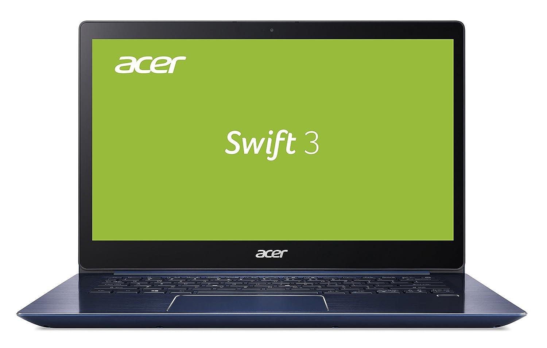 Acer Swift 3 SF314-52-33VV 35,6 cm (14 Zoll Full-HD IPS) Ultrabook (Intel Core i3-7100U, 4GB RAM, 128GB SSD, Intel HD, Win 10) blau