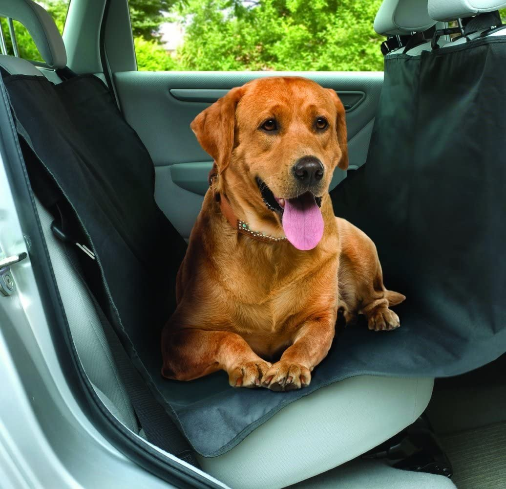 2P AC771 Universal Heavy Duty Waterproof Rear Seat Protector For Pets