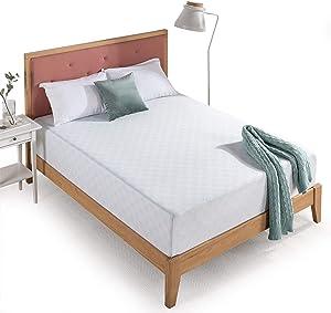 Zinus 12 Inch Gel-Infused Green Tea Memory Foam Mattress / Cooling Gel Foam / Pressure Relieving / CertiPUR-US Certified / Bed-in-a-Box, Twin