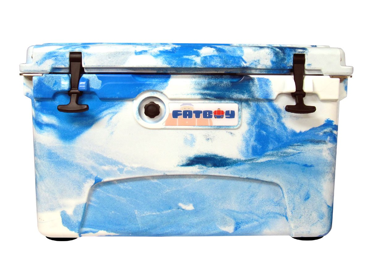 Fatboy 45QT Rotomolded Chest Ice Box Cooler Marine Camo by Fatboy