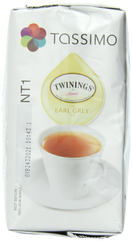 Tassimo Twinings Earl Grey Tea T Discs (80 Count, 5 Packs of 16)