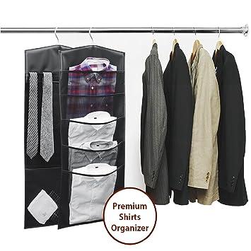 Amazoncom HARRA Premium Hanging Clothes Portable Closet Organizers