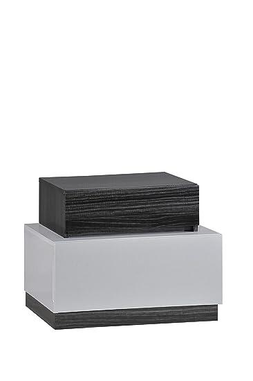 Amazon.com: Global Furniture Lexi Mesita de noche, línea ...