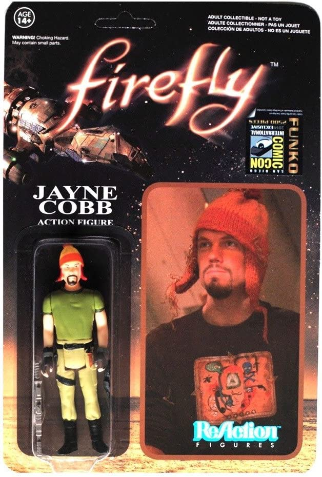 New in Stock Firefly Malcolm Reynolds ReAction 3 3//4-Inch Retro Figure