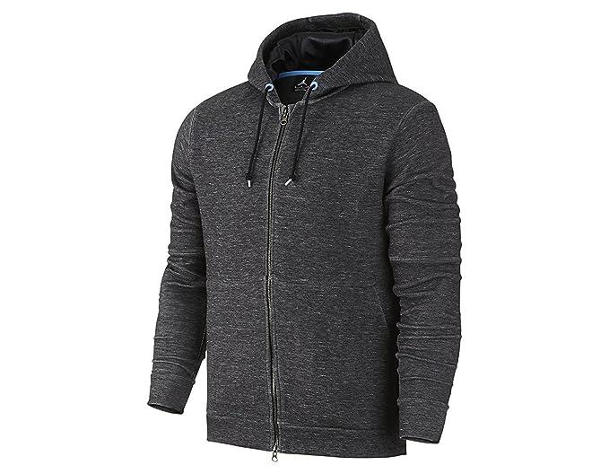 4dbe41611e3d2b Jordan Men s Jordan Grey Air Jordan Retro 11 Pinnacle Fleece Hoodie 2XL Grey