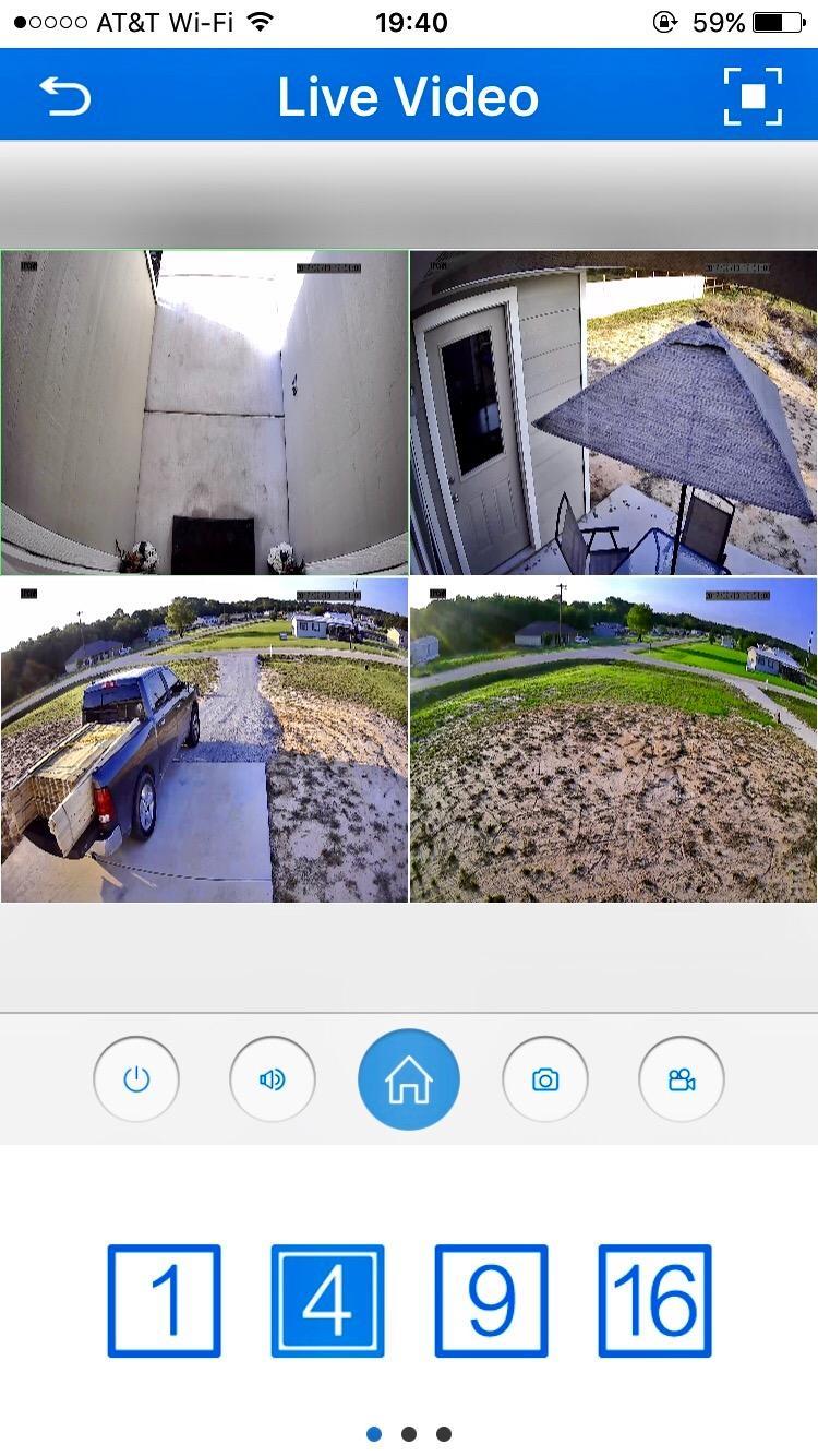 SV3C POE Camera, 1080P IP Camera Outdoor, Home Security Surveillance