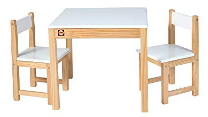 ALEX Toys Artist Studio Wooden Table and Chair Set White  sc 1 st  Amazon.com & Amazon.com: ALEX Toys Artist Studio Wooden Table and Chair Set White ...